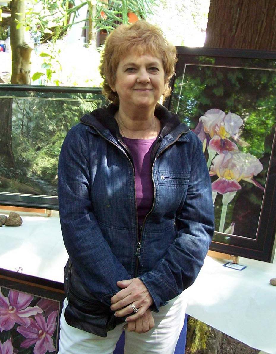Artist Sandra Cattermole