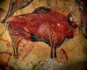 bison cave painting - is there a male bias in art