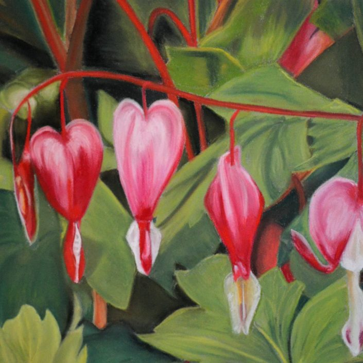 Hearts - A Painting by Sandra Cattermole