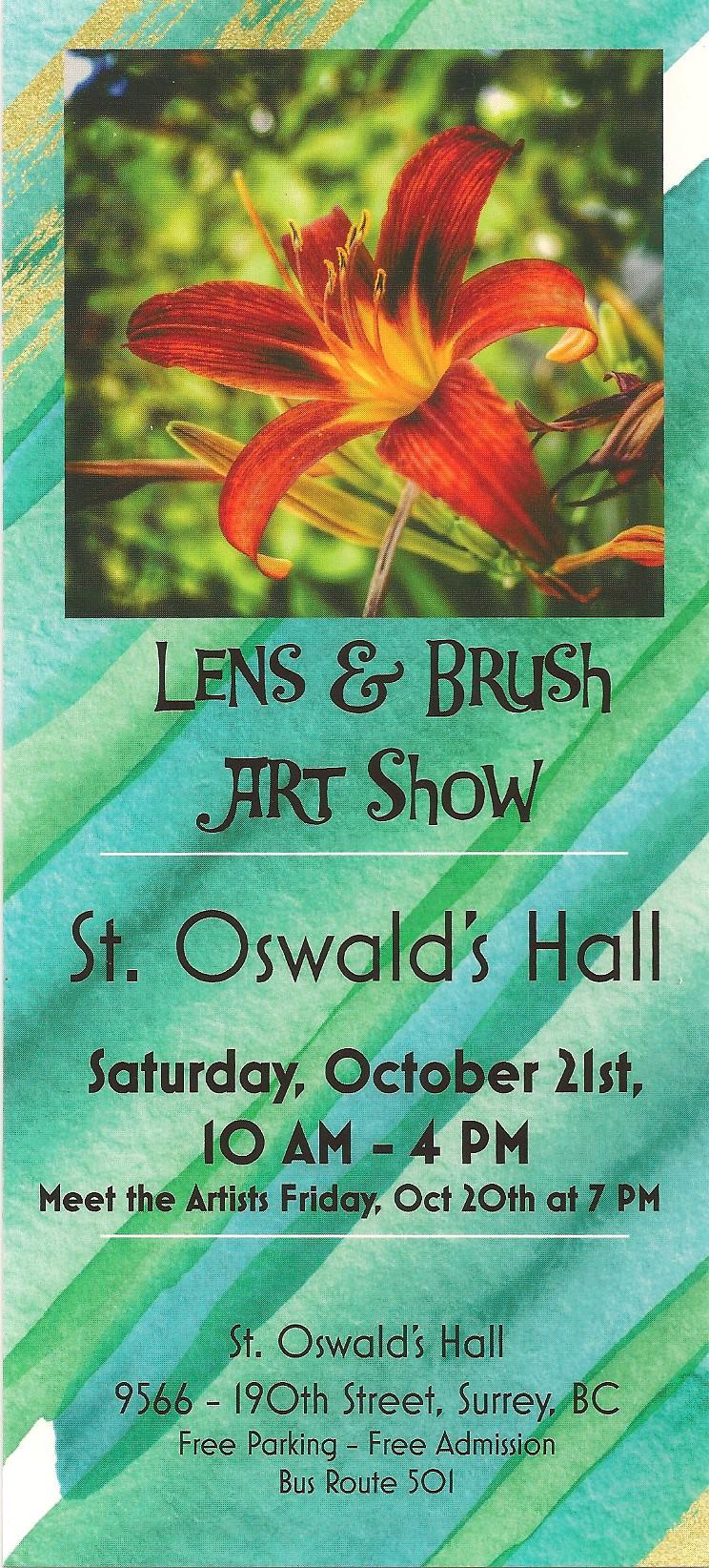 lens and brush art show