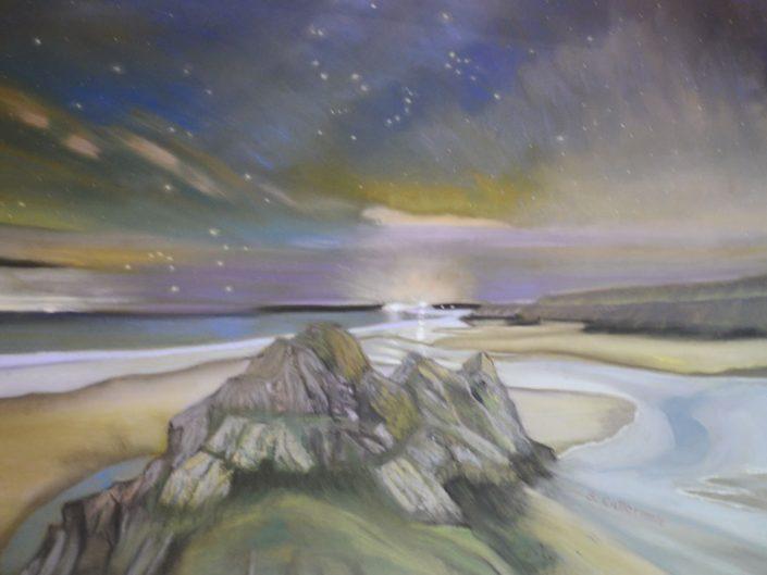 Three Cliffs Beach, Wales